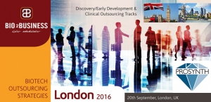 Invitation to meet ProSynth at Biotech Outsourcing Strategies 2016 - London